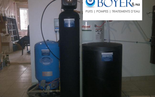 Système de traitement d'eau et filtration